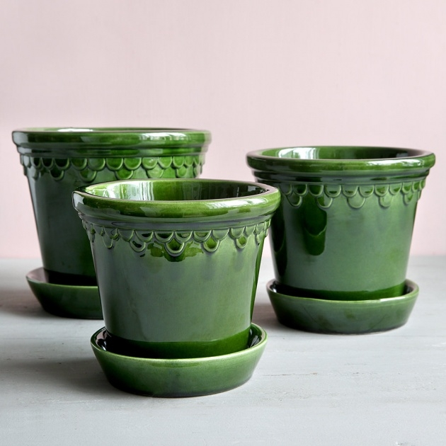 Innovative Glazed Plant Pots Photo