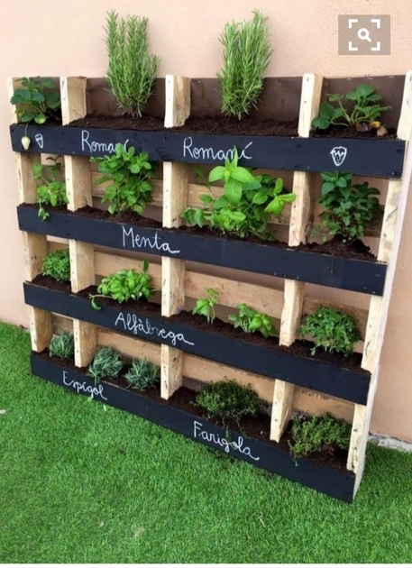 Innovative Pallet Planter Ideas Image