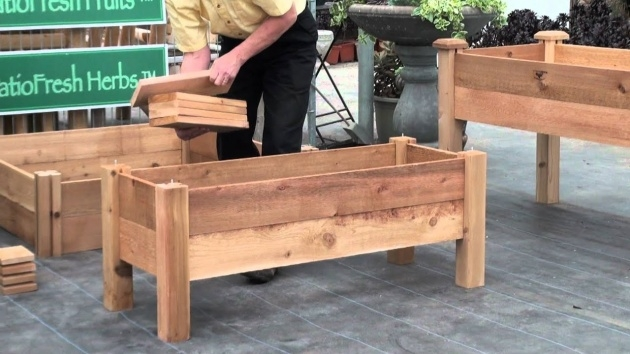 Innovative Planter Box Plans Free Photo