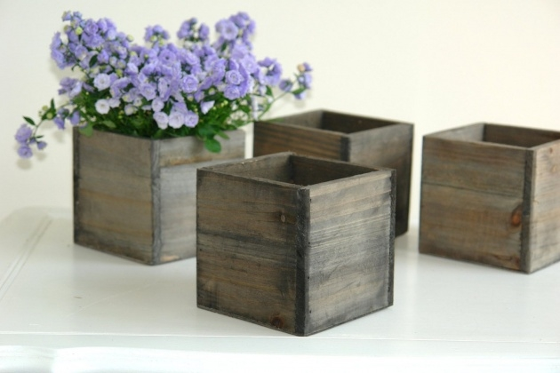 Innovative Small Wooden Planters Image