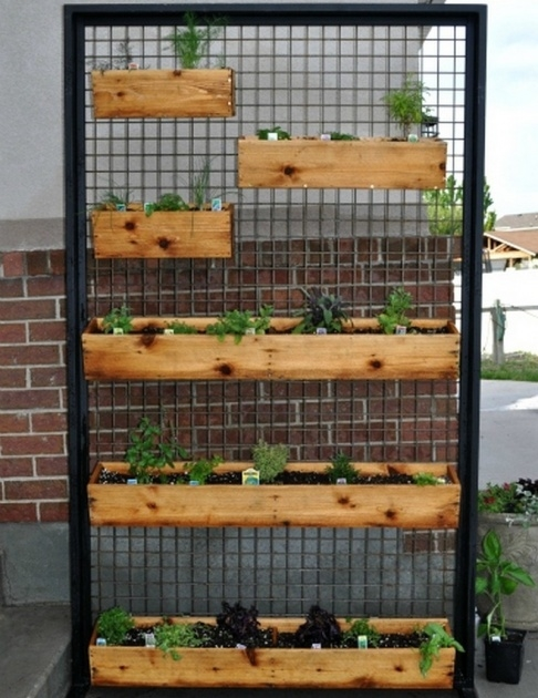 Innovative Vertical Planter Box Picture
