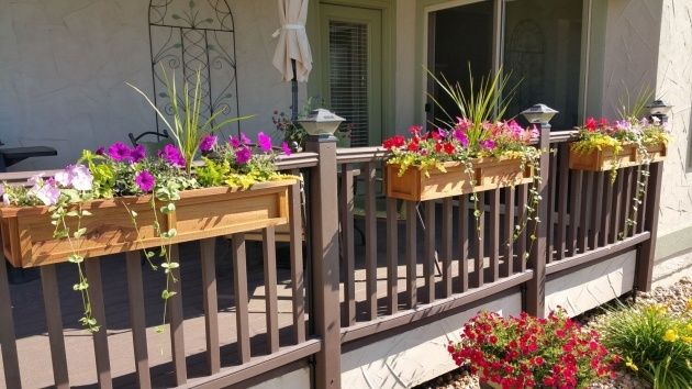 Insanely Balcony Rail Planter Box Photo