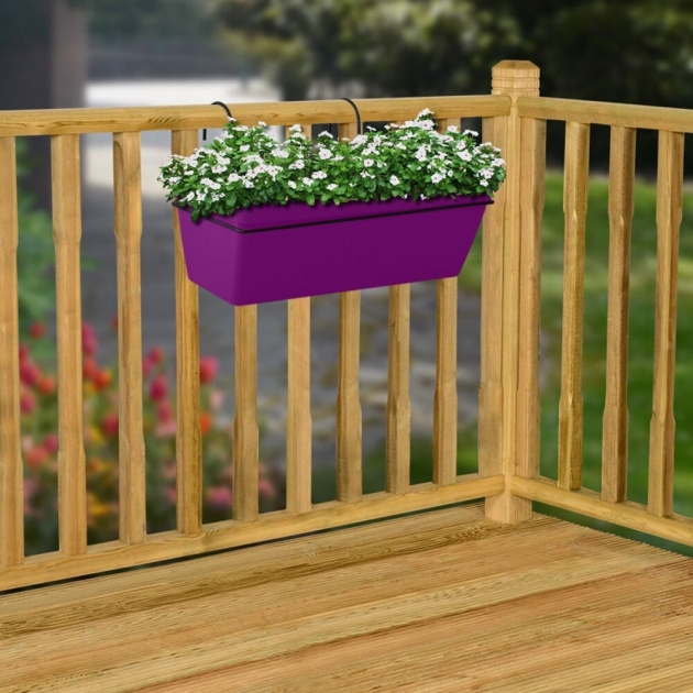Insanely Balcony Railing Planter Picture