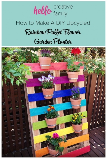 Insanely Diy Pallet Planter Picture