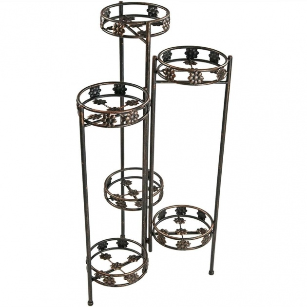 Insanely Metal Plant Stand Photo
