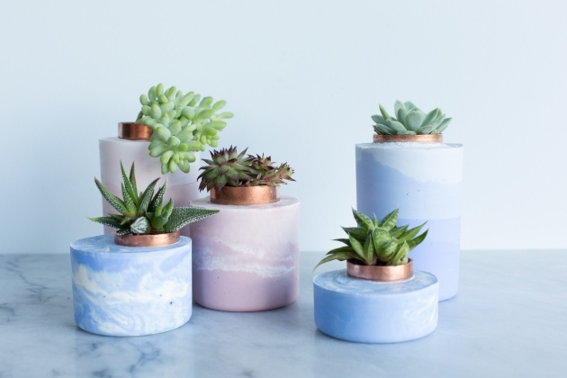 Inspiration Diy Cement Planters Image