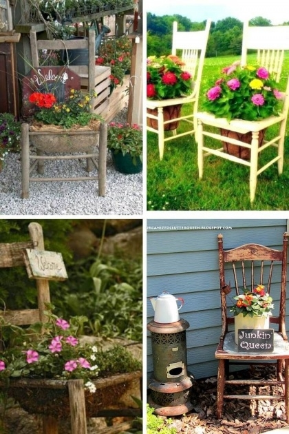 Inspiration Diy Garden Planter Ideas Photo
