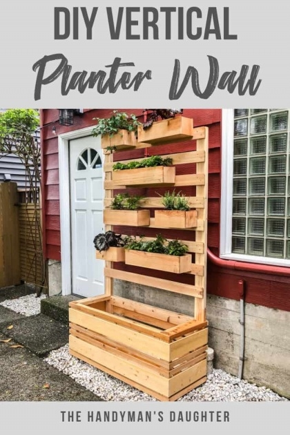 Inspiration Diy Vertical Planter Picture