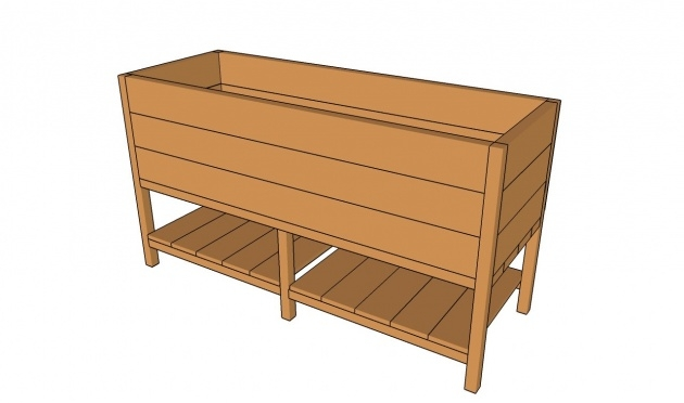 Inspiration Planter Box Plans Free Image