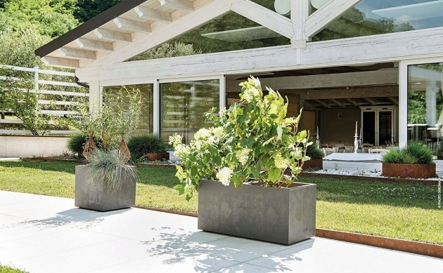 Inspiration Planter With Water Reservoir Image