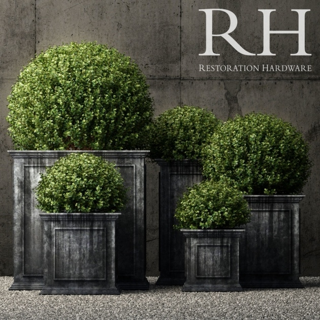 Inspiration Restoration Hardware Planters Picture
