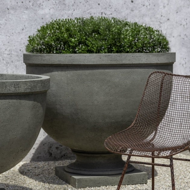 Inspirational Cast Stone Planters Photo