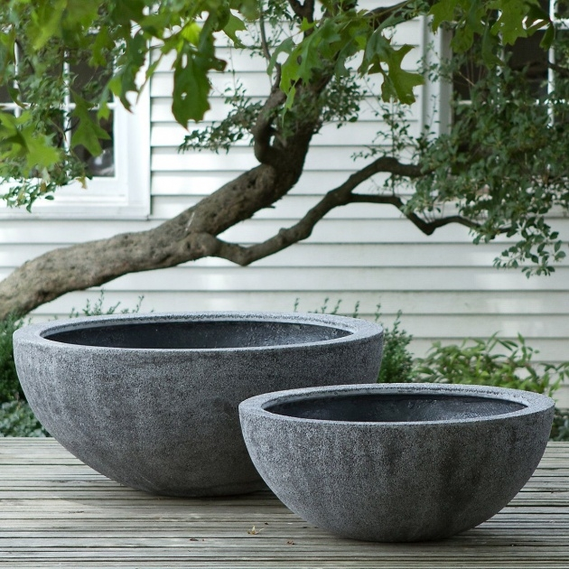 Inspirational Concrete Outdoor Planters Photo
