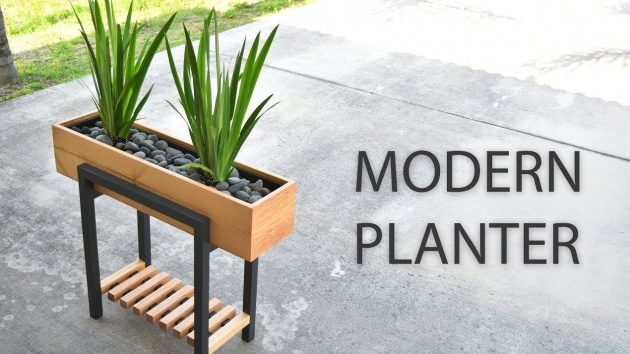 Inspirational Contemporary Planter Box Picture