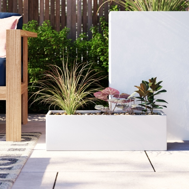 Inspirational Fiberglass Planter Box Photo