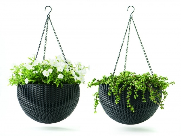 Inspirational Metal Hanging Planters Picture