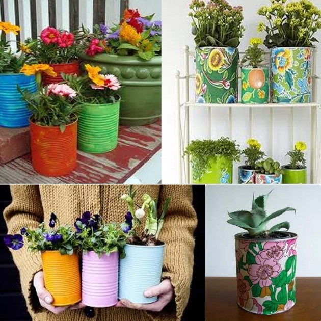 Inspirational Paint Can Planter Picture