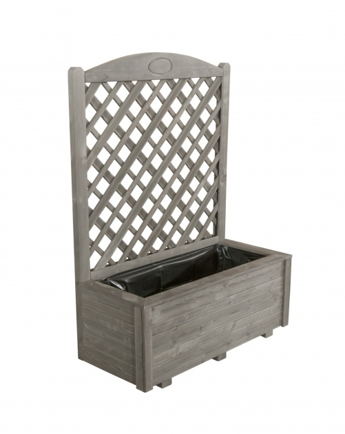 Inspirational Planter Box With Trellis Picture