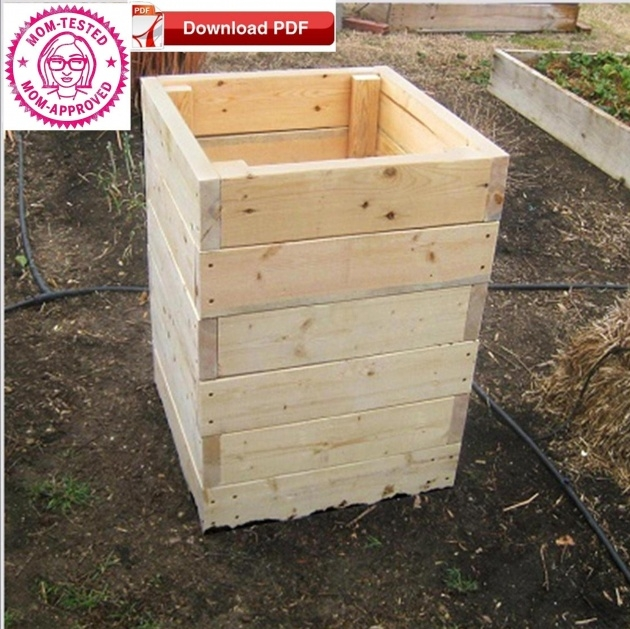 Inspirational Potato Planter Box Image
