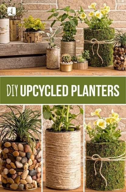 Inspirational Recycled Diy Planters Picture
