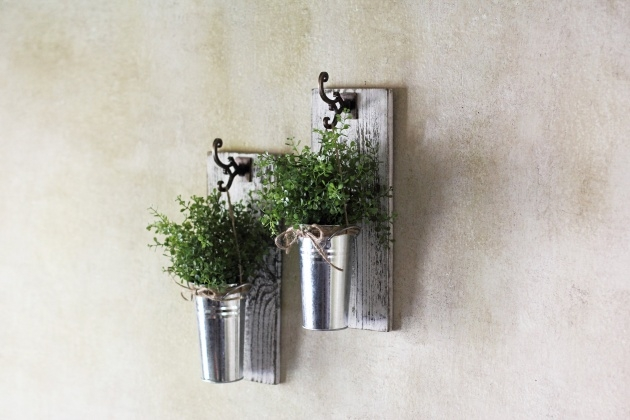Inspirational Rustic Wall Planter Photo