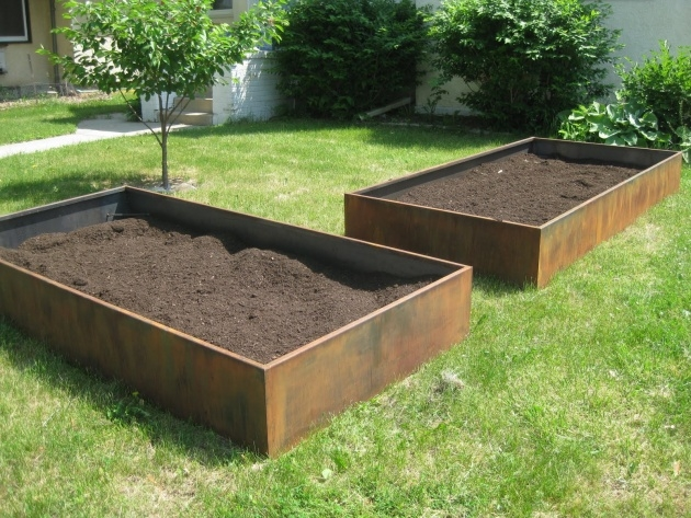Inspirational Steel Planter Boxes Image