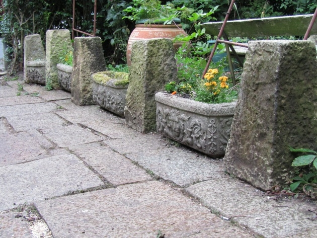Inspirational Stone Garden Planters Picture