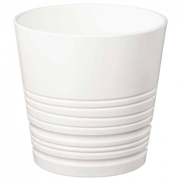 Inspirational White Plant Pots Image