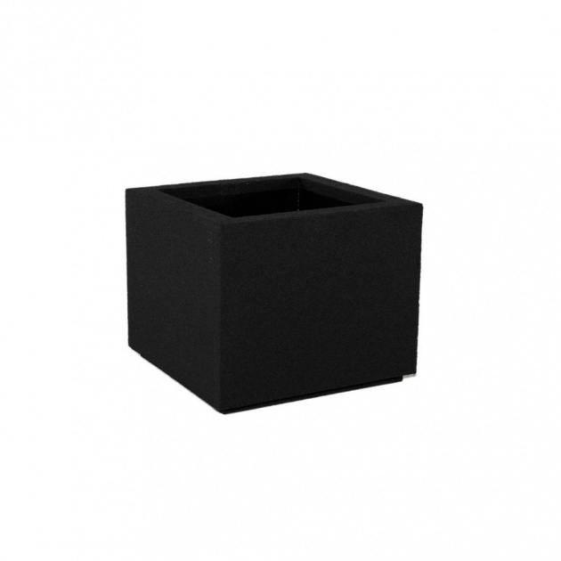 Inspiring Black Square Planter Picture