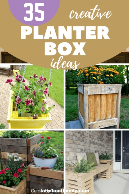 Inspiring Creative Planter Box Ideas Picture