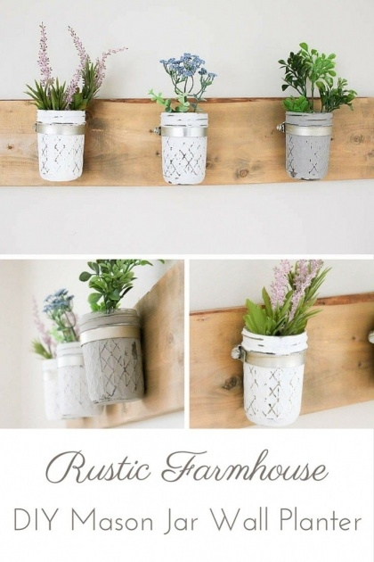 Inspiring Mason Jar Planter Picture