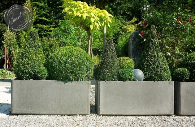 Inspiring Modern Outdoor Pots And Planters Image