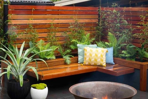Inspiring Planter Box Bench Seat Image