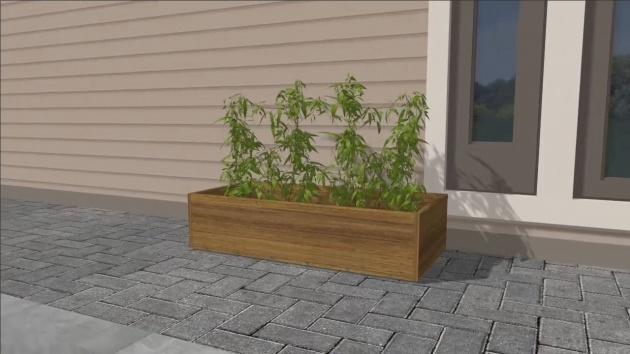 Inspiring Planter Box Construction Image