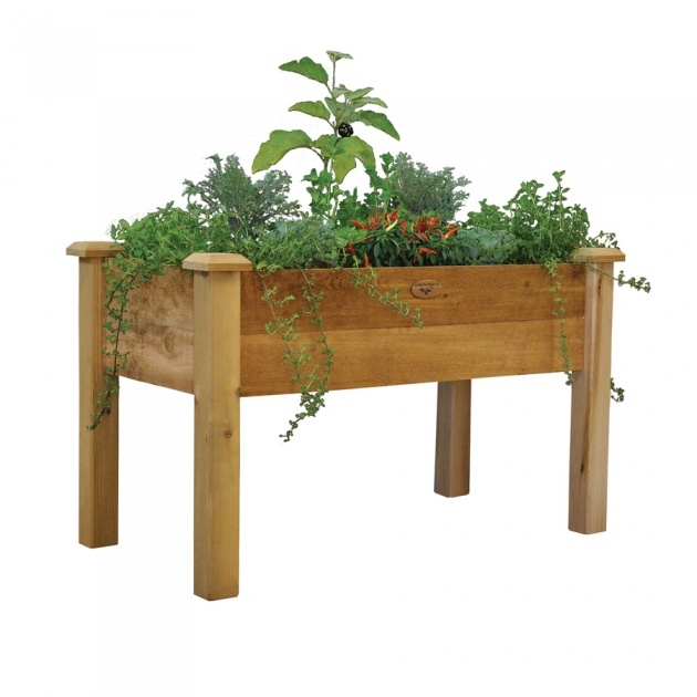 Inspiring Planter Box Stands Outdoor Picture