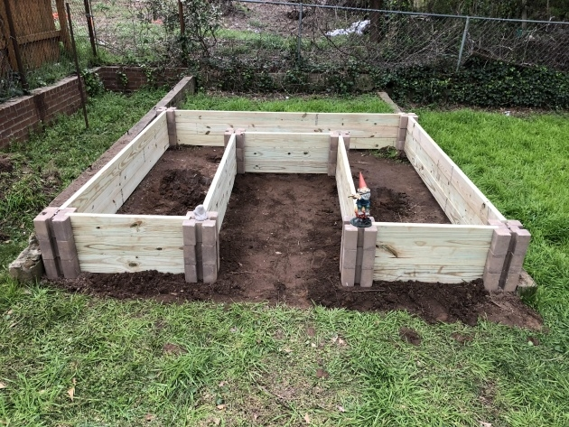 Inspiring Raised Bed Planter Picture