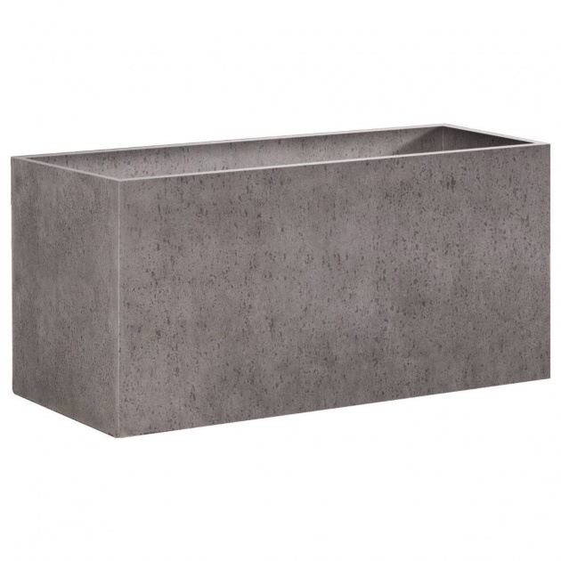 Inspiring Rectangular Concrete Planters Photo