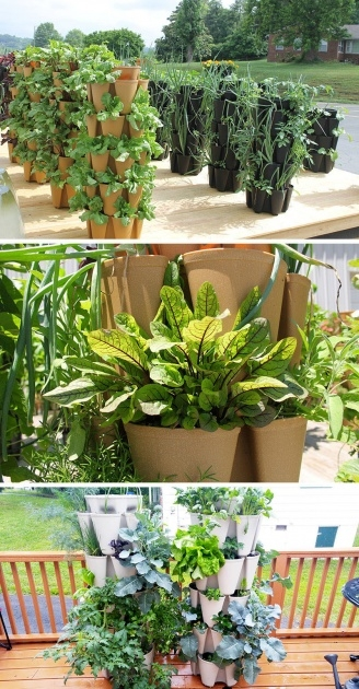 Inspiring Vertical Vegetable Garden Planters Image