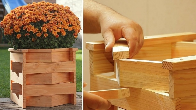 Inspiring Wooden Planter Box Diy Photo