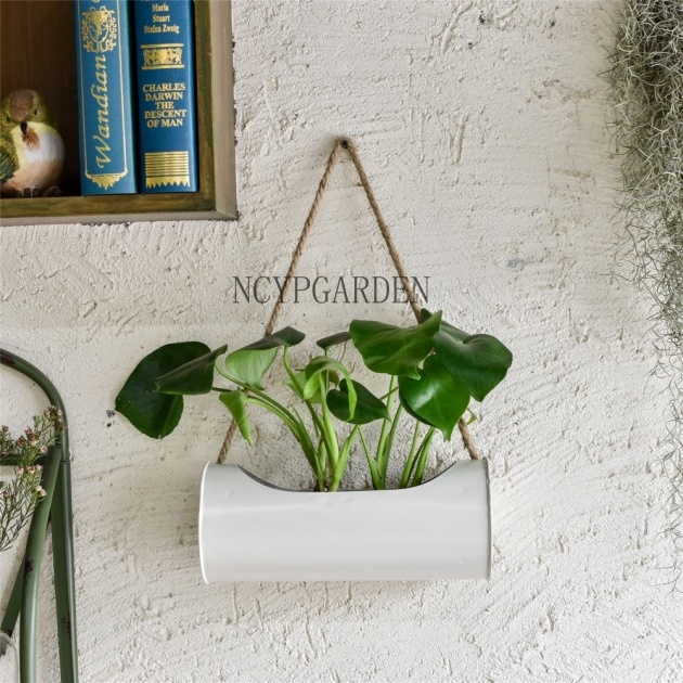Interesting Modern Hanging Planter Photo