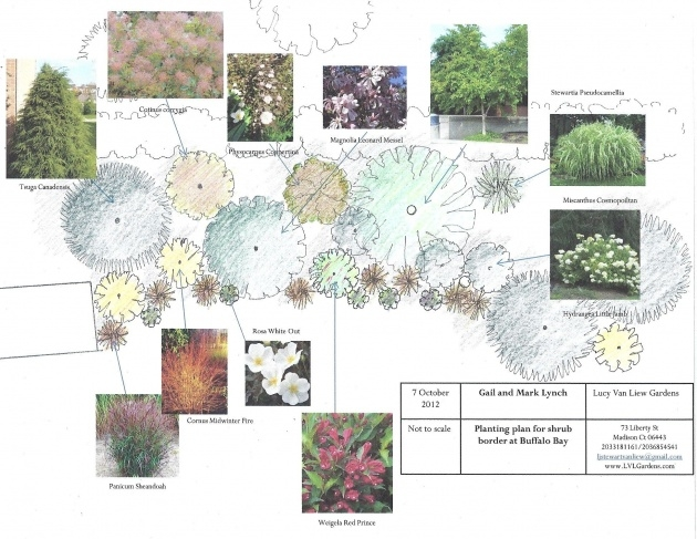 Interesting Planting Design Plan Picture