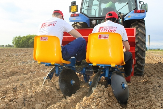 Interesting Potato Planter Machine Photo