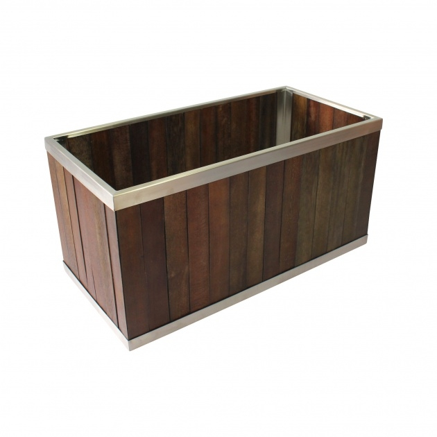 Interesting Rectangular Planter Box Picture