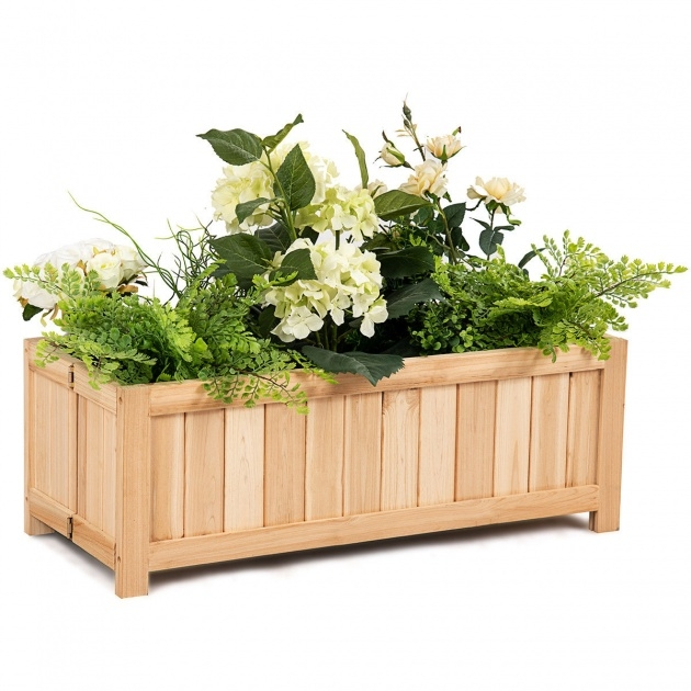 Interesting Vegetable Planter Box Picture