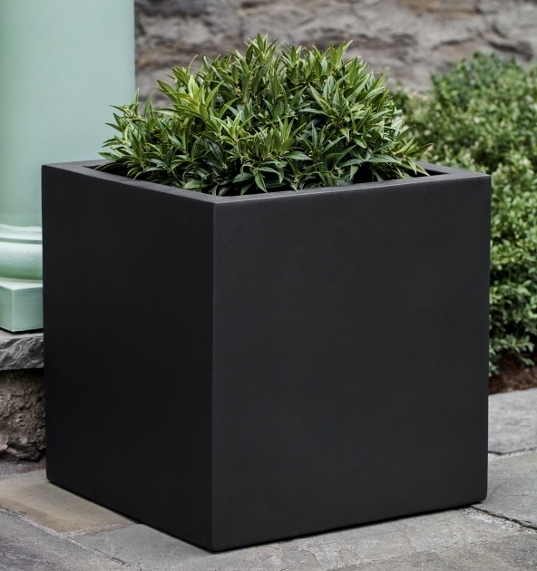 Marvelous Black Planter Box Image