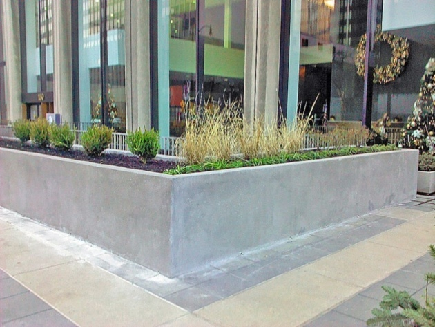Marvelous Concrete Planter Box Photo