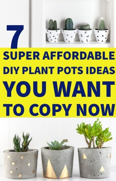 Marvelous Diy Plant Pots Image