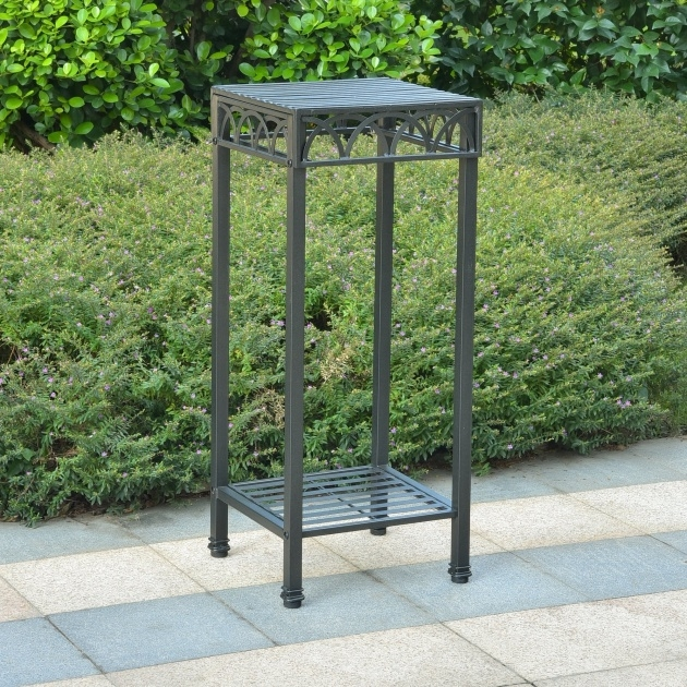 Marvelous Outdoor Plant Stand Image