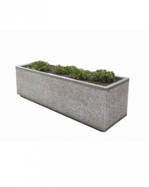 Marvelous Rectangular Concrete Planters Picture