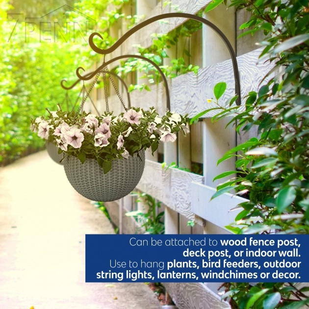 Marvelous Wall Plant Hangers Outdoor Photo